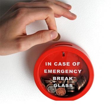 Em caso de emergência, quebre o vidro!