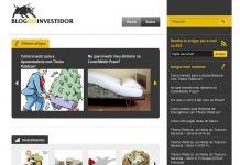 Website Blog do Investidor