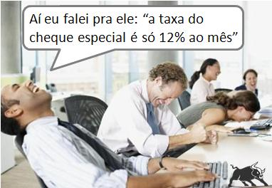 Taxa do cheque especial
